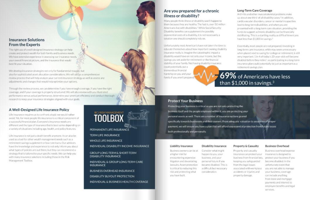 BCJ Financial | Insurance Strategies